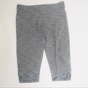Lululemon Grey Space Dye Crop Legging Size 8
